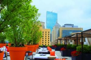 Revere Hotel Rooftop Garden